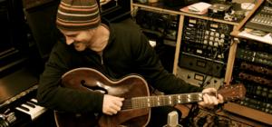 Ed Cash - Ed Cash Producing in his Studio