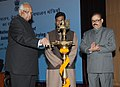 Sharad Pawar lighting the lamp to inaugurate the National Conference of State Ministers of Animal Husbandry, Dairy Development and Fisheries.jpg
