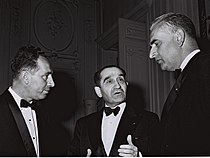 Shimon Peres and Christian Fouchet 1964.jpg