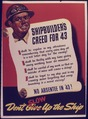Shipbuilders Creed for '43 - NARA - 534687.tif