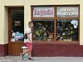 Shopfront with Pedestrian - Przemysl - Poland (36203897652).jpg