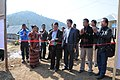 Shri Thangchem Zathang, Project Director DRDA, Lawngtlai Distt., inaugurates the Bharat Nirman Public Information Campaign, at Siachangkawn village, in Lawngtlai Distt., Mizoram on February 09, 2012.jpg