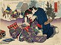 Shunga attributed to Kunisada Station Mishima 53 stations.jpg