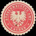 Siegelmarke Bürgermeisteramt Aachen W0383425.jpg