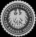 Siegelmarke Der Königl. Landrat des Kreises Geldern W0343904.jpg