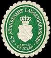 Siegelmarke Königlich Sächsisches Standesamt Langenbernsdorf - Amtshauptmannschaft Zwickau W0252084.jpg