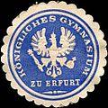 Siegelmarke Königliches Gymnasium zu Erfurt W0217435.jpg