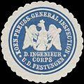 Siegelmarke K.Pr. General Inspection des Ingenieur Corps und der Festungen W0379407.jpg