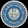 Siegelmarke K.Pr. Landrathsamt Büren W0391640.jpg