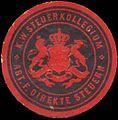 Siegelmarke K.W. Steuerkollegium Abt. für direkte Steuern W0390465.jpg