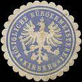 Siegelmarke K. Bürgermeisterei Kirberg W0382994.jpg