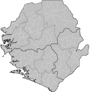 Chiefdoms of Sierra Leone - Chiefdoms of Sierra Leone.