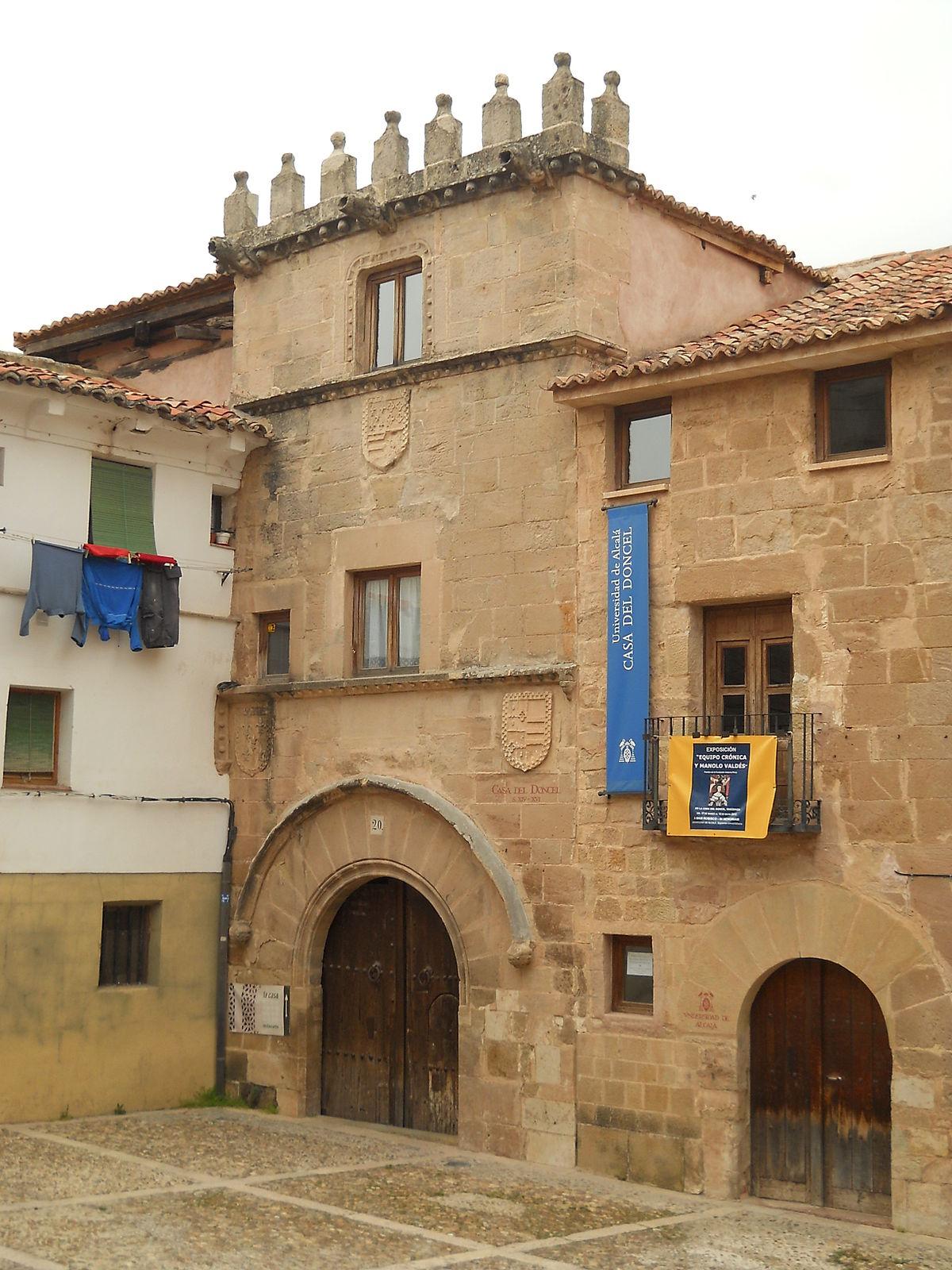 Casa del doncel wikipedia - Casa rural cerca de siguenza ...