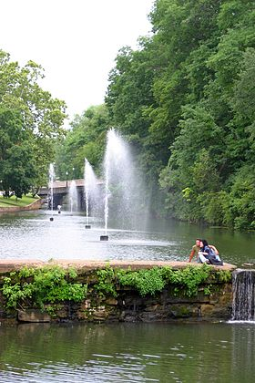 Siloam Springs Arkansas Fountains.JPG