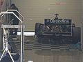 Silverstone 2010 - Girondins de Bordeaux car in pitlane garage.jpg