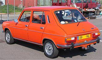 """Simca 1100 - Simca 1100 """"Special"""" hatchback"""