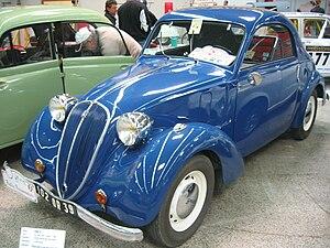 Simca 8 - Simca 8 coupé deux places (2 seat coupé)