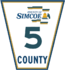 Simcoe Road 5 sign.png
