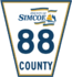 Simcoe Road 88 sign.png