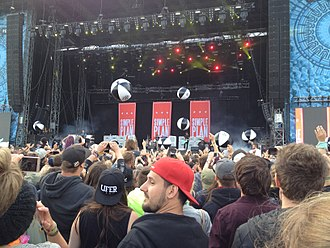 Nova Rock Festival - Simple Plan on Blue Stage