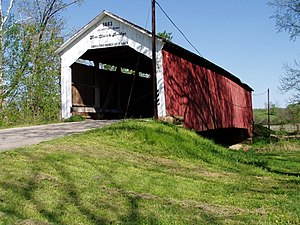 Parke County Covered Bridges - Image: Sims Smith CB