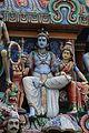 Singapore. Sri Mariamman. Gopuram. South East-28.JPG