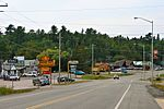 King's Highway 71 at Sioux Narrows