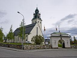 Sankt Olovs kyrka i maj 2009