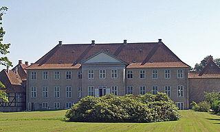 Hvalsø Town in Denmark