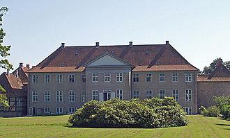 Skjoldenæsholm Castle - The main wing