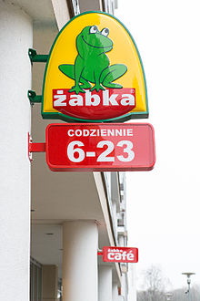 a594f4537c176 Żabka (sieć sklepów) – Wikipedia