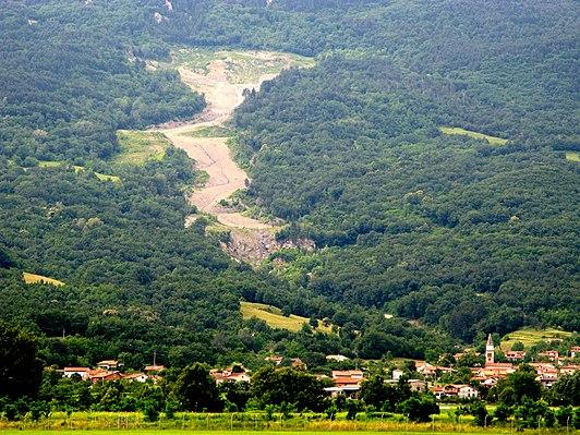 Slano Blato Landslide