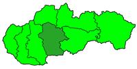 Poloha diecéze bánskobystrické na Slovensku