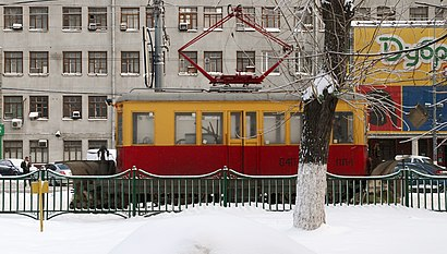 How to get to Шарикоподшипниковская Улица with public transit - About the place