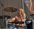 Snowy Shaw with Sabaton at Wacken Open Air 2013.jpg