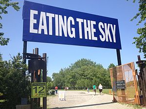 Socrates Sculpture Park - Socrates Sculpture Park Broadway Billboard 2012