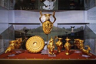 Thracian treasure - Image: Sofia Panagyurishte Thracian Gold Treasure