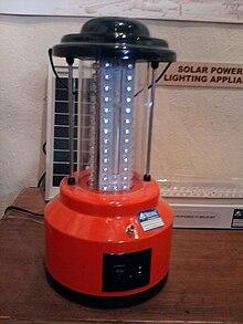 Solar Lamp Wikipedia