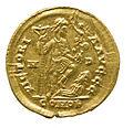 Solidus of Honorius (YORYM 2001 12465 2) reverse.jpg