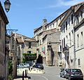 Sommieres entrance at the Southside with old church - panoramio.jpg