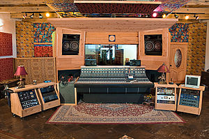 Sonic Ranch - The Adobe Control Room at Sonic Ranch