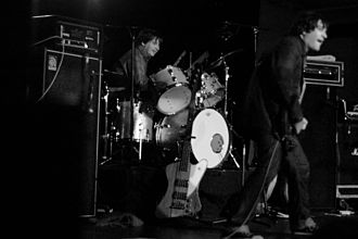 Steve Shelley - Shelley with Sonic Youth in Stockholm in 2005