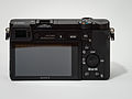 Sony Alpha ILCE-6000 APS-C-frame camera rear.jpeg