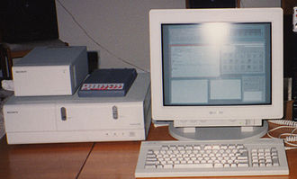 Berkeley Software Distribution - Sony NEWS workstation running the BSD-based NEWS-OS operating system