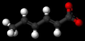 Sodium sorbate - Image: Sorbate 3D balls