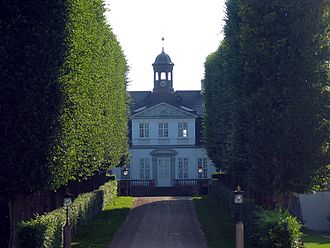 Sorgenfri station - Sorgenfri Palace, former residence of the Danish monarch, is less than a kilometre east of the station.
