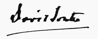 David Souter - Image: Souter signature