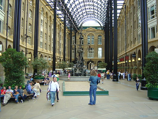 The former Hay's Wharf, which Hays sold in the early 1980s. It is now called Hay's Galleria.