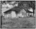 Southwest view - Shadinger-Leavell House, US 27 and State Route 1, Carrollton, Carroll County, GA HABS GA,23-CAROL.V,3-6.tif