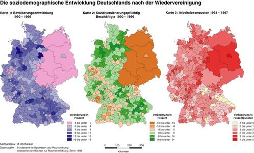 Demografische Entwicklung Deutschlands nach der Wiedervereinigung